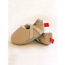 <strong>Elks & Angels</strong> Welcome Booties Slipper in Natural Sheepskin