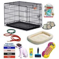 Boy Puppy Pet Crate