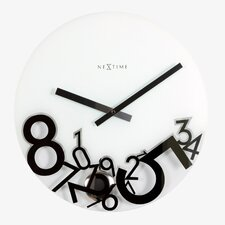 "17"" Dropped Wall Clock"