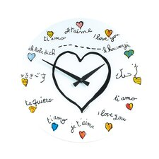 """Loving You"" Wall Clock"