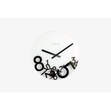 """Dropped"" Wall Clock"