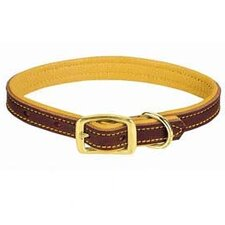 "1"" Deer Ridge Leather Collar"