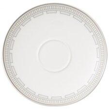 15 cm Kaffeeuntertasse La Classica Contura aus Premium Bone Porzellan in Weiß