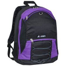 Two-Tone Backpack with Mesh Pockets
