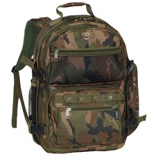 Woodland Camouflage Backpack