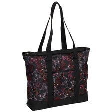 Fashionable Butterfly Shopper Tote Bag