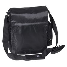 Vertical Laptop Bag in Black