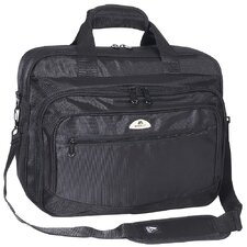 Deluxe Laptop Briefcase in Black