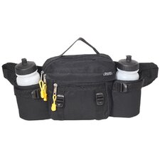 "10"" Insulated Dual Squeeze Bottle Waist Pack"