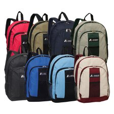 Backpack with Front and Side Pockets