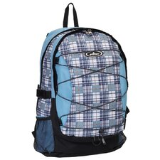 Deluxe Plaid Backpack