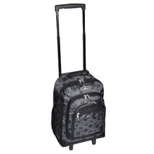 Telescoping Print Rolling Backpack
