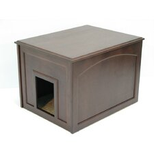<strong>Crown Pet Products</strong> Cat Condo and Litter Box Cabinet