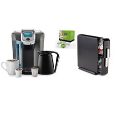 2.0 K550 Brewing System with Countertop Storage Drawer and Mountain Breakfast Blend K-Cups