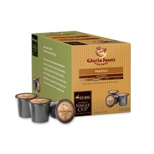 Gloria Jean's Hazelnut Coffee K-Cup (Pack of 108)