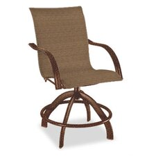Palisade Sling Swivel Rocker Balcony Stool
