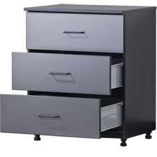 "Tuff Stor Tough Storage Systems 34"" H x 27"" W x 21"" D Three Drawer Unit"