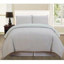 Luna Comforter Set in Grey