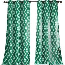 Kittattinny Blackout Grommet Curtain Panel (Set of 2)