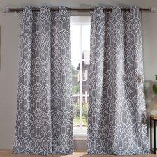 Kit Blackout Grommet Curtain Panel (Set of 2)