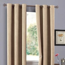 <strong>DR International</strong> Urban Hotel Chenille Grommet Curtain Single Panel