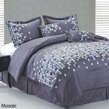 <strong>DR International</strong> Mosaic 6 Piece Comforter Set