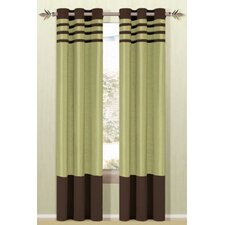 Beyonce Grommet Curtain Single Panel