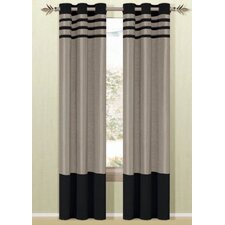 <strong>DR International</strong> Beyonce Grommet Curtain Single Panel