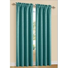 <strong>DR International</strong> Marty Rod Pocket Curtain Panel (Set of 2)