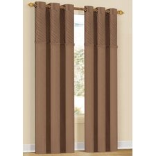 <strong>DR International</strong> Annecy Grommet Curtain Panel (Set of 2)