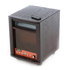 <strong>iLIVING</strong> 1,500 Watt Infrared Cabinet Electric Space Heater