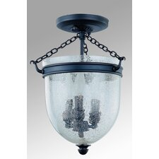 Escarpement 3 Light Semi Flush Mount