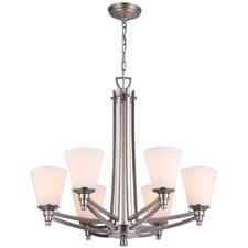 <strong>DVI</strong> Georgetown 6 Light Chandelier