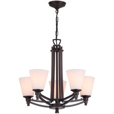 <strong>DVI</strong> Georgetown 5 Light Chandelier