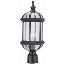 "Hexagon 1 Light 18"" Post Lantern"