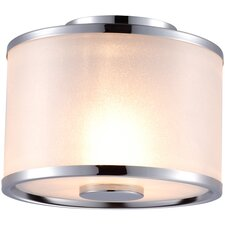 Milan 2 Light Flush Mount