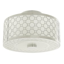 Trilogy 1 Light Semi Flush Mount