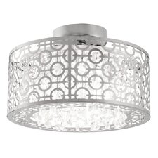 Eclipse 1 Light Semi Flush Mount