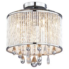 Chimera 3 Light Semi Flush Mount