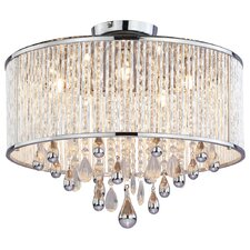 Chimera 5 Light Semi Flush Mount