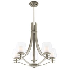 <strong>DVI</strong> Isabella 5 Light Chandelier