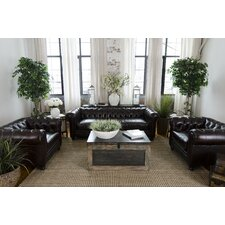 Estate Top Grain Leather Living Room Collection