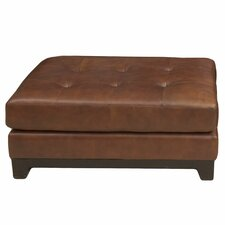 Corsario Leather Cocktail Ottoman