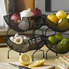<strong>Nifty Home Products</strong> Mesh Stacking Utility Baskets