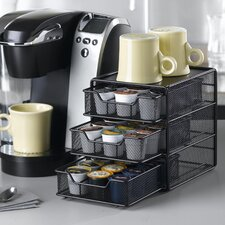 <strong>Nifty Home Products</strong> 36 Coffee Pod Drawer in Black Satin