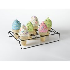 <strong>Nifty Home Products</strong> Ice Cream Cone Cupcake Baking Rack