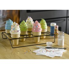 Ice Cream Cone Cupcake Baking Rack