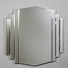 Art Deco Design Bevelled Mirror