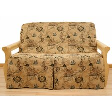 New World Futon Skirted Slipcover