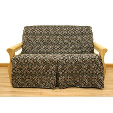 Navajo Futon Skirted Slipcover